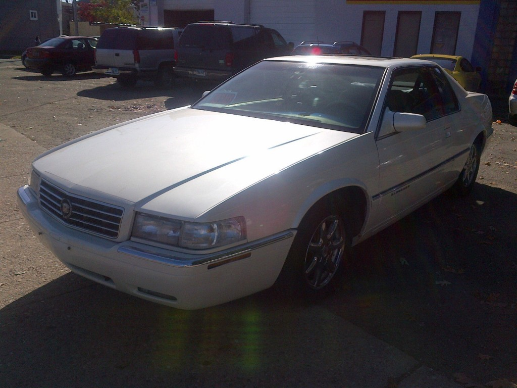1998 cadillac eldorado esc coupe 2 door 4 6l for sale. Black Bedroom Furniture Sets. Home Design Ideas