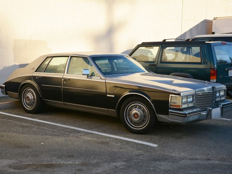1983 Cadillac Seville Elegante Two Tone Color for sale