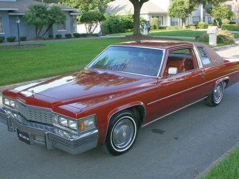 1977 Cadillac Deville Coupe  Southern Survivor for sale