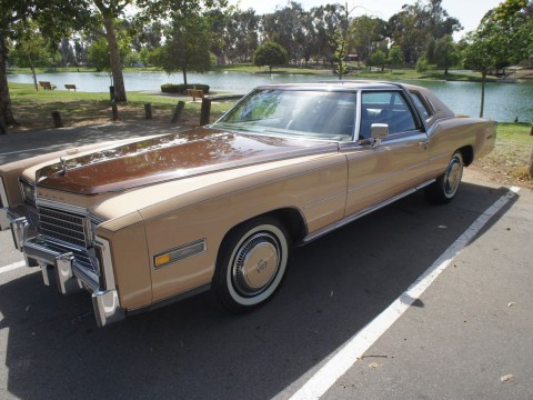 1978 Cadillac Eldorado Biarritz with Moonroof for sale