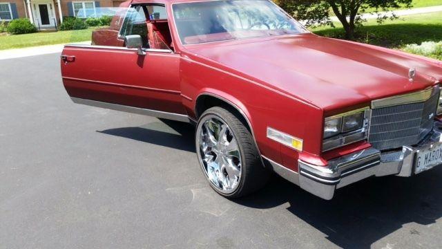 1985 Cadillac Eldorado Coupe 2 Door 4.1L