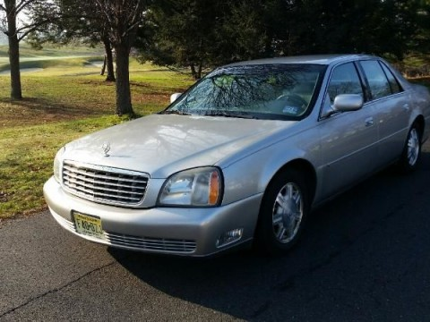 2004 Cadillac DeVille Silver/Tan int for sale