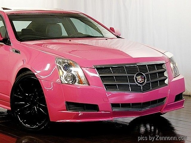 Cadillac Cts Luxury Collection Awd Custom Pink Paint Job Cadillacs For Sale