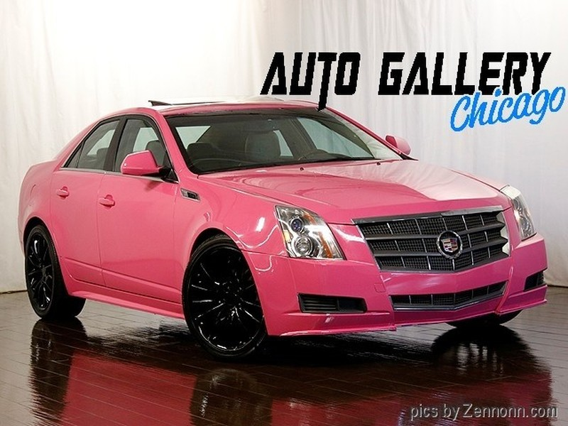 2011 Cadillac CTS Luxury Collection AWD Custom Pink Paint Job for sale