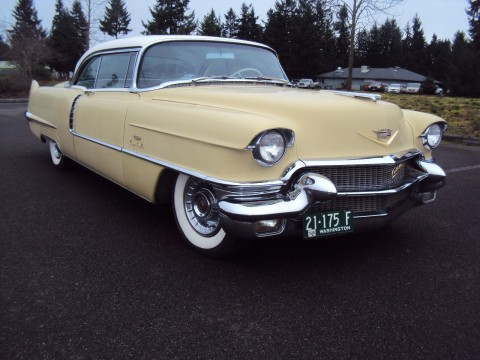 1956 Cadillac Deville coupe for sale