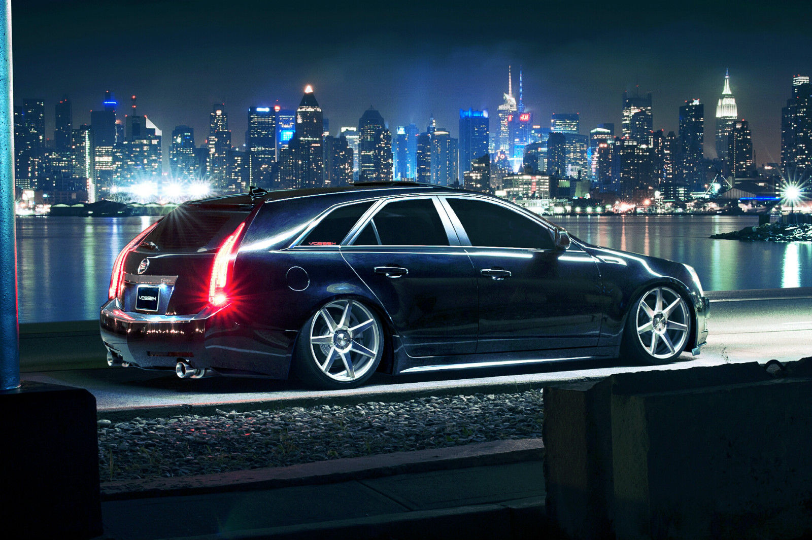2011 Cadillac Cts Wagon Bagged For Sale