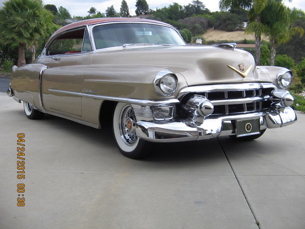 1953 Cadillac Coupe Deville Engine 1953 Free Engine
