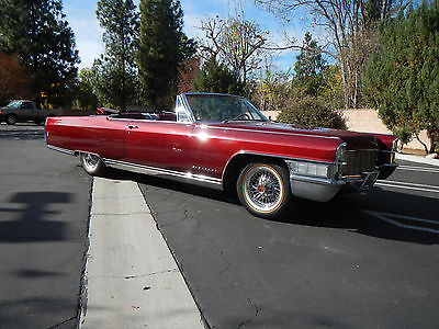 1965 Cadillac Eldorado Convertible Rebuilt Motor for sale