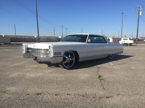 1966 Cadillac Coupe Deville Bagged CUSTOM for sale