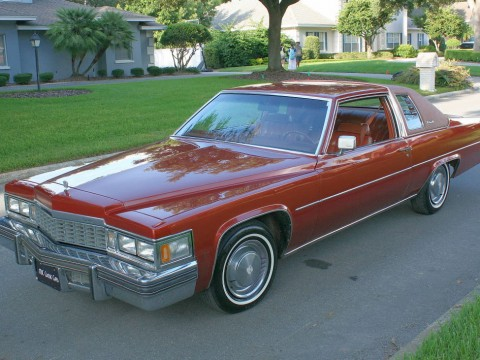 1977 Cadillac Deville Coupe for sale
