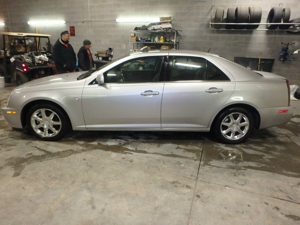 2006 cadillac sts salvage for sale. Black Bedroom Furniture Sets. Home Design Ideas