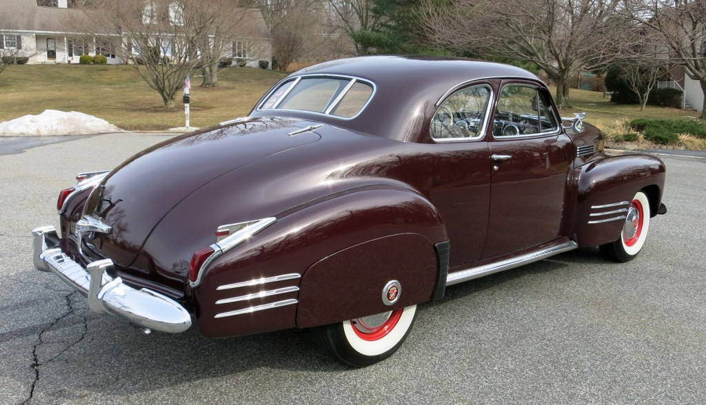 1941 Cadillac Series 62 Coupe For Sale