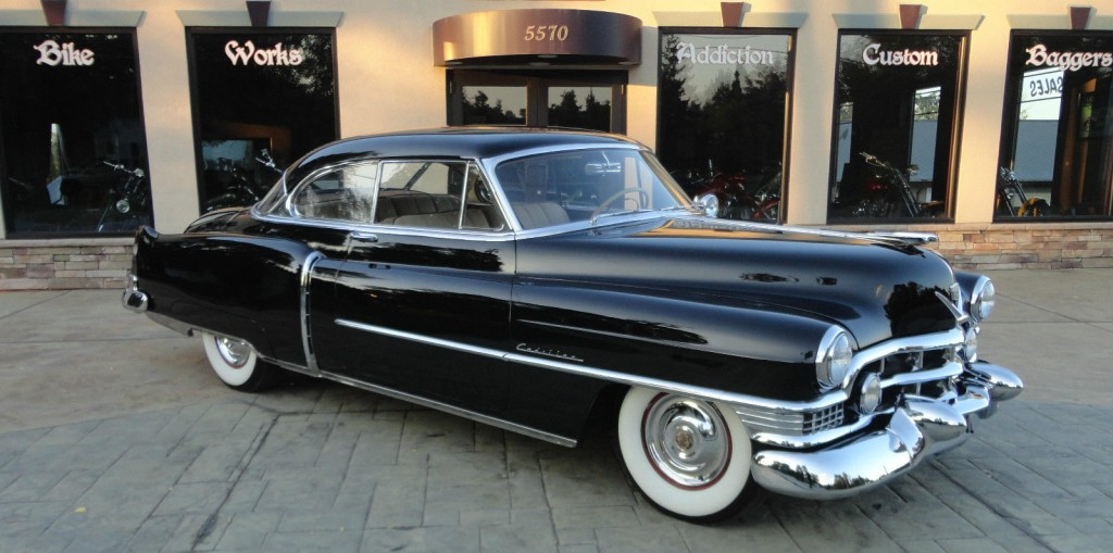 Cadillac Cts Coupe For Sale >> 1951 Cadillac Series 62 Coupe for sale