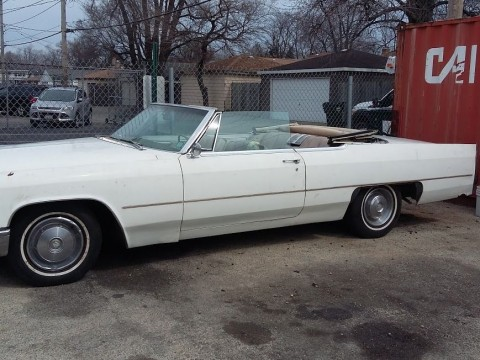 1966 Cadillac DeVille Convertible for sale