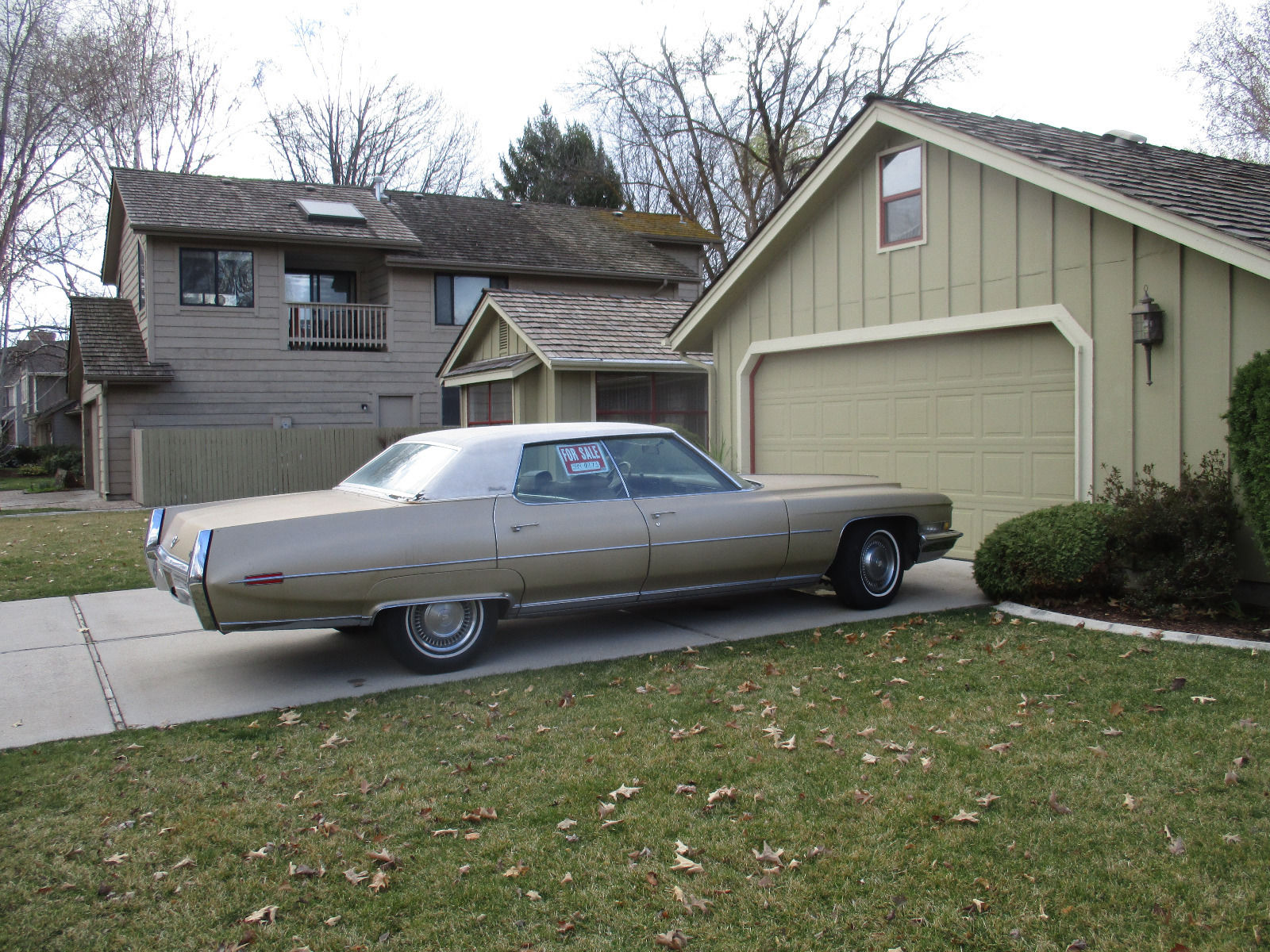 1972 Cadillac Deville Sedan For Sale