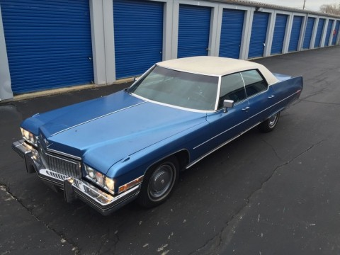 1973 Cadillac DeVille for sale