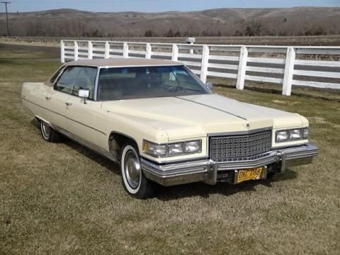 1976 Cadillac Deville Sedan for sale