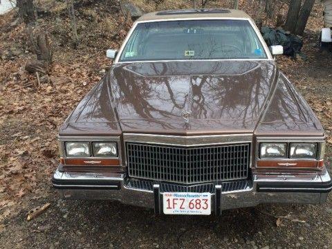 1980 Cadillac DeVille Sedan for sale