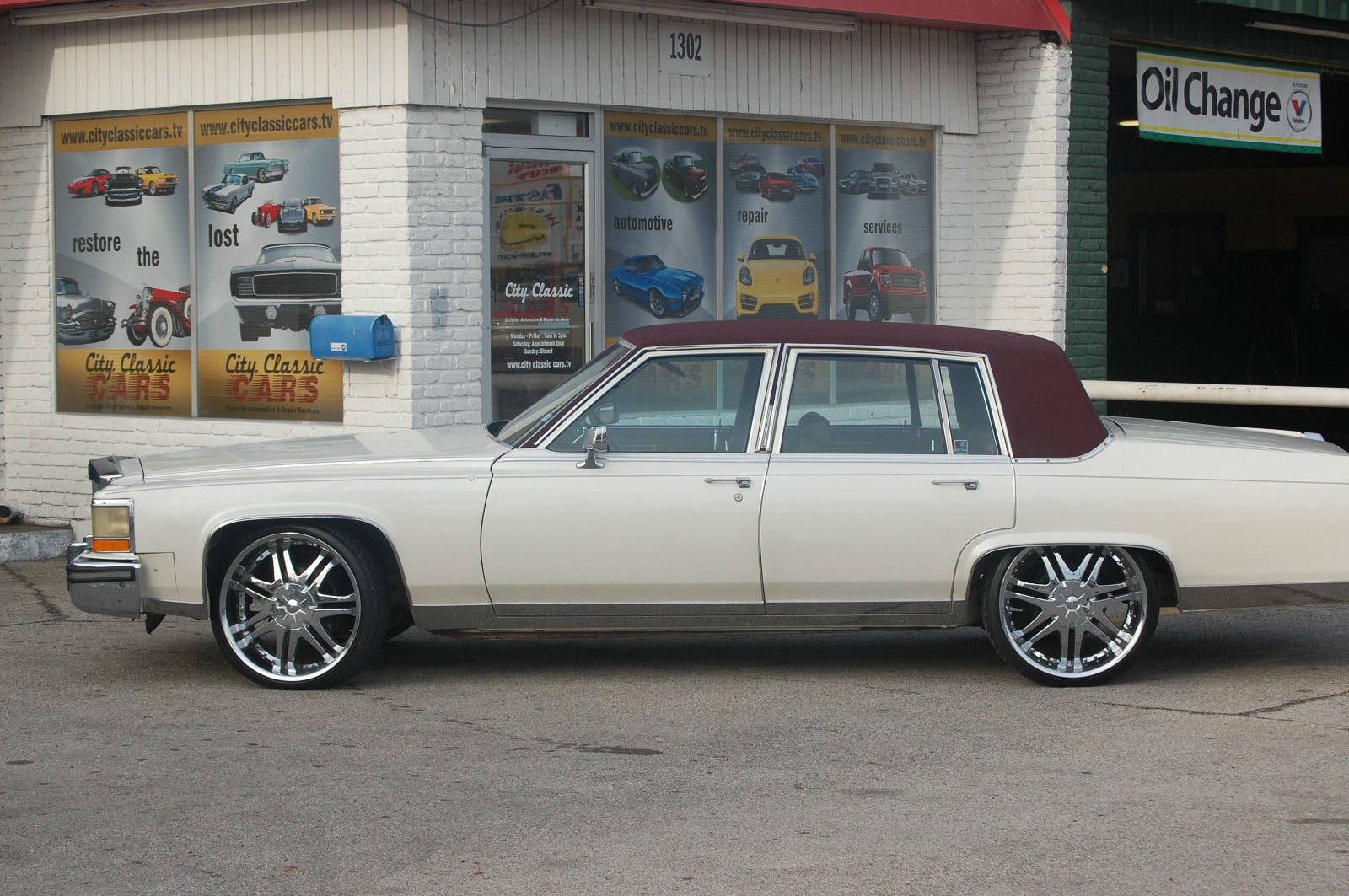 1987 Cadillac Brougham For Sale