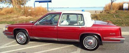 1987 Cadillac DeVille Sedan for sale