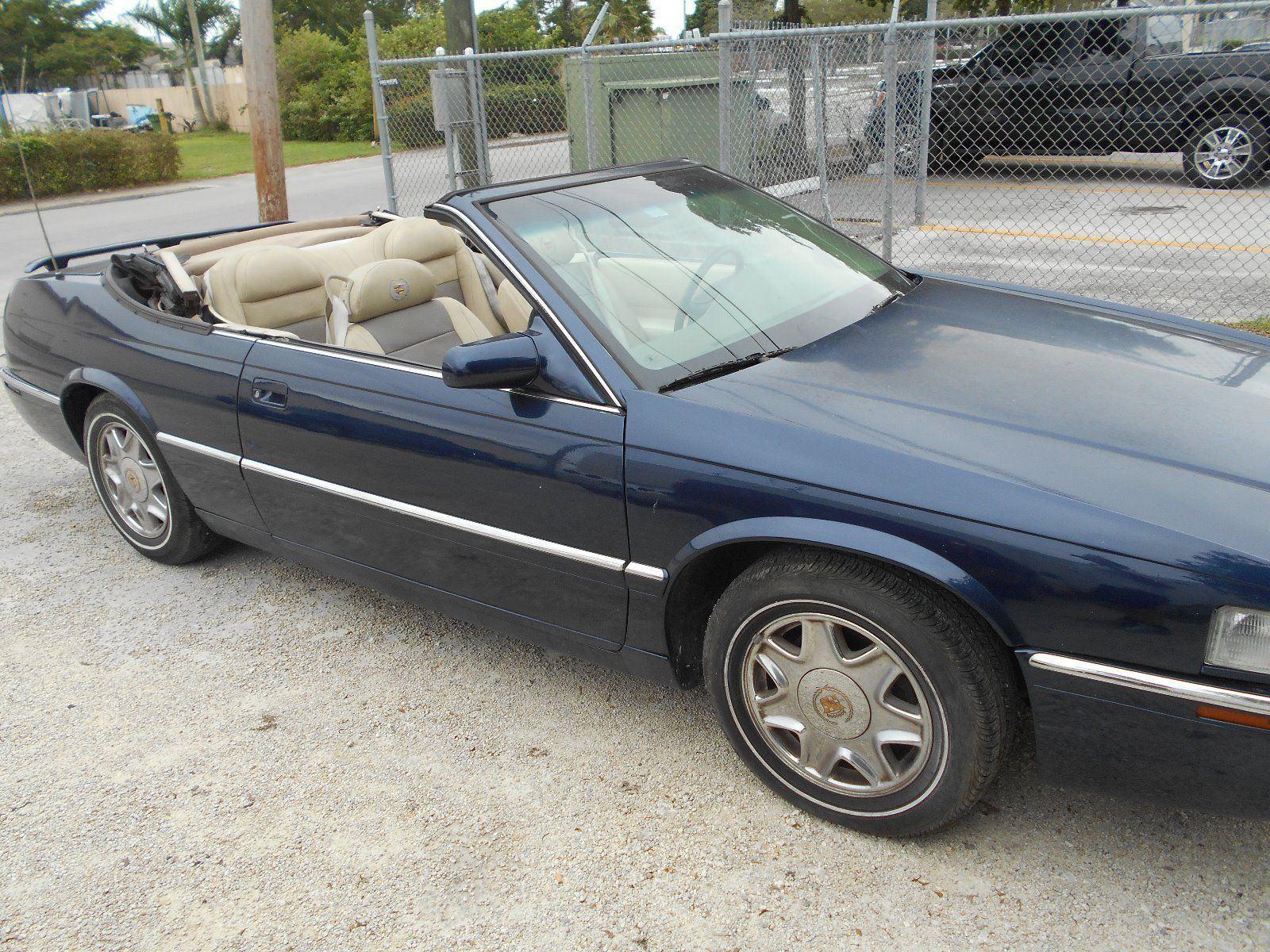 1999 Cadillac Eldorado Convertible For Sale