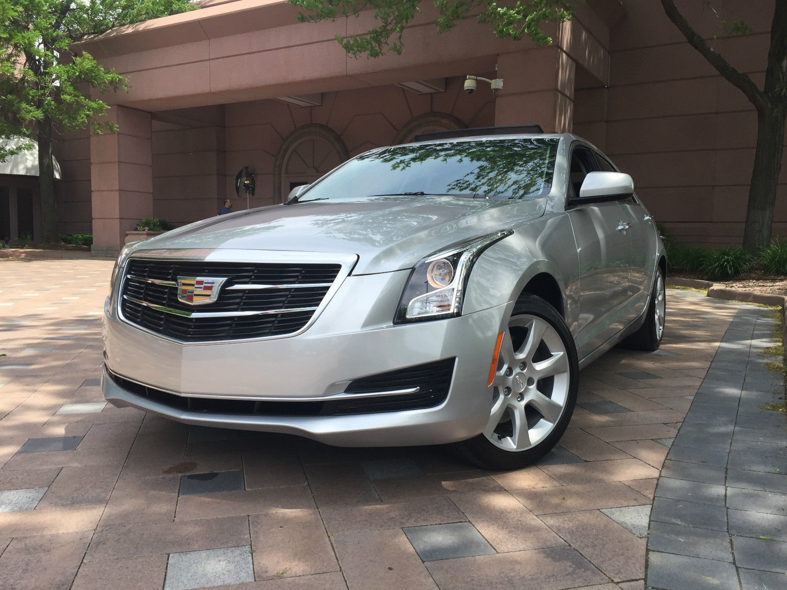 2015 cadillac ats heated leather seats awd moon roof camera for sale. Black Bedroom Furniture Sets. Home Design Ideas