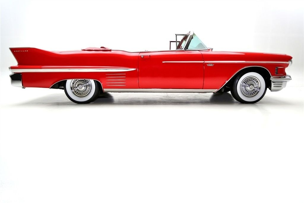1958 Cadillac Series 62 Convertible For Sale