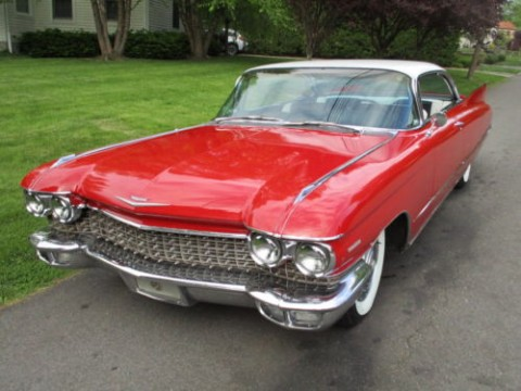 1960 Cadillac Series 62 Coupe Deville for sale