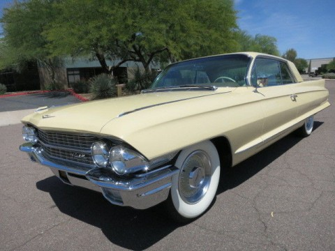 1962 Cadillac Deville Series 62 Coupe for sale