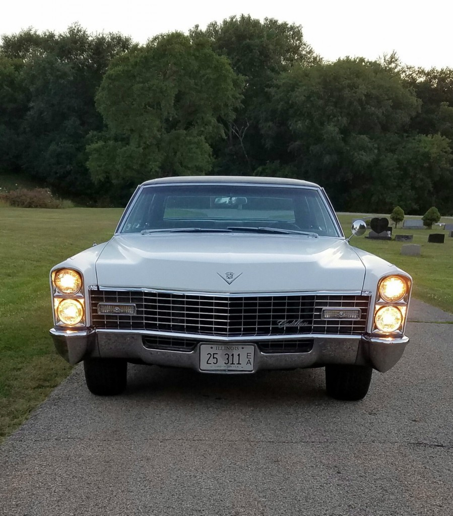 Custom Cadillac Deville For Sale: 1967 Cadillac Sedan DeVille For Sale