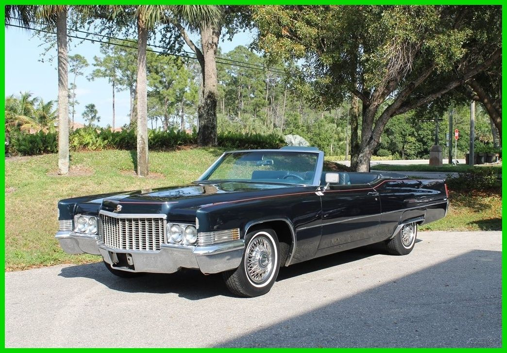 1970 Cadillac Deville Convertible For Sale