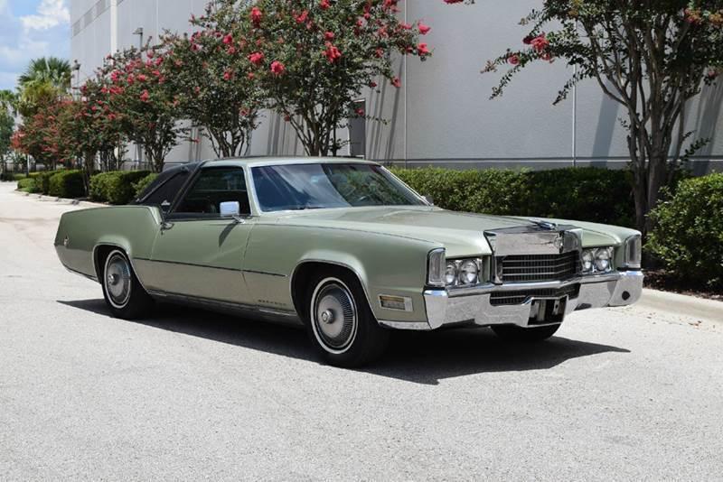 New Cadillac Eldorado >> 1970 Cadillac Eldorado ElClasico for sale