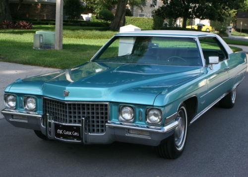 Cadillac Eldorado 2017 >> 1971 Cadillac Coupe Deville for sale