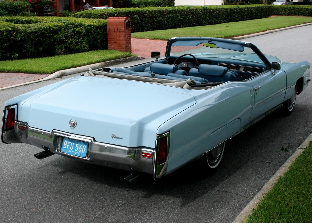 1972 Cadillac Eldorado Convertible For Sale