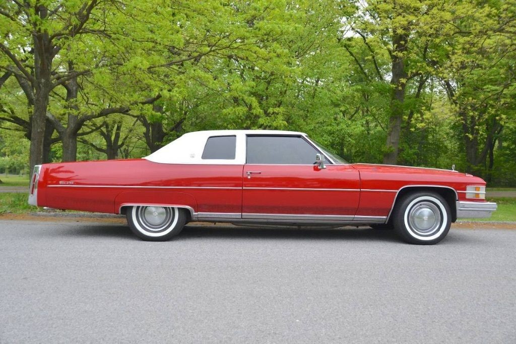 1974 Cadillac Coupe Deville For Sale