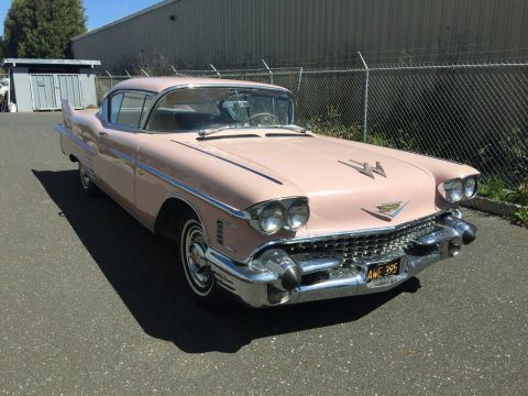 1958 Cadillac Series 62 Coupe DeVille for sale