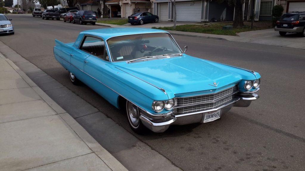 1963 Cadillac Sedan Deville Base