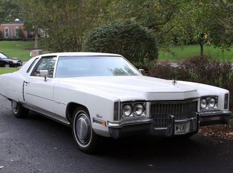 1972 Cadillac Eldorado Coupe for sale