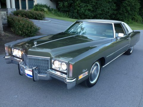1972 Cadillac Eldorado Coupe rare color for sale