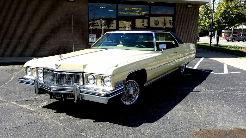 1973 Cadillac Deville Coupe For Sale