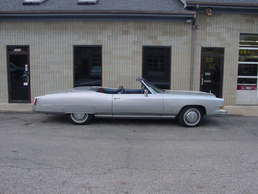 Used Tires Columbus Ohio >> 1974 Cadillac Eldorado Base Convertible for sale
