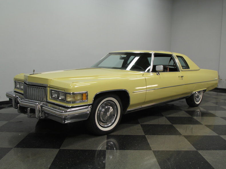 Cadillac Deville Coupe For Sale