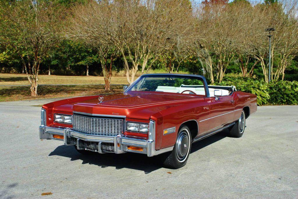 1976 Cadillac Eldorado Convertible For Sale