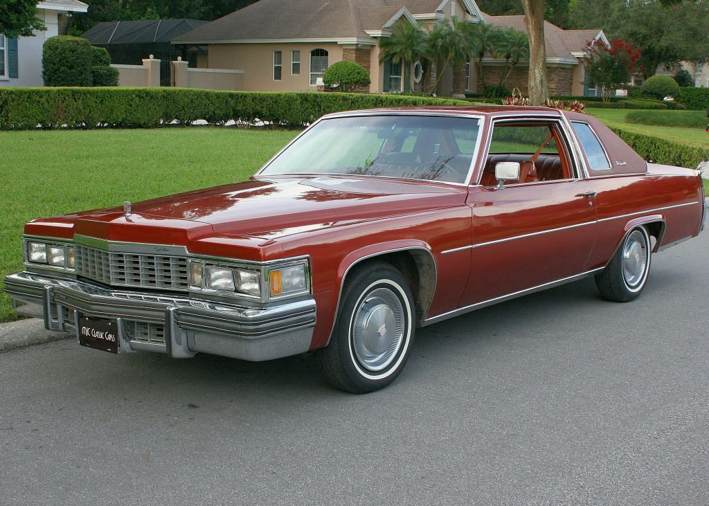 2016 Cadillac Escalade Interior >> 1977 Cadillac Coupe Deville for sale