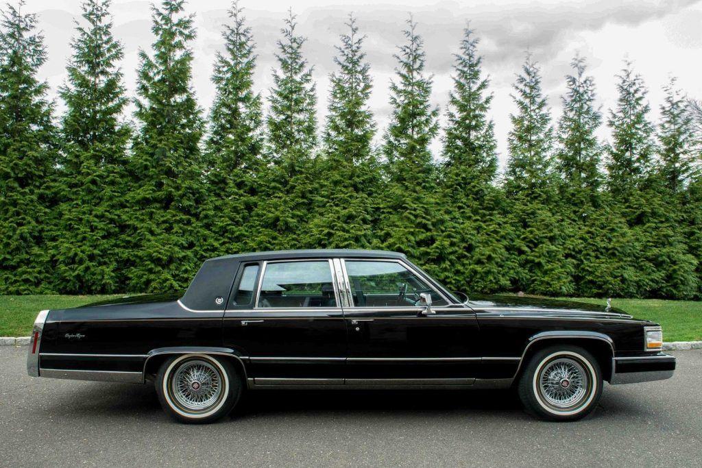 Cadillac Brougham Delegance Sedan For Sale X