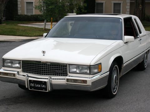 1990 Cadillac Fleetwood Coupe Moonroof for sale