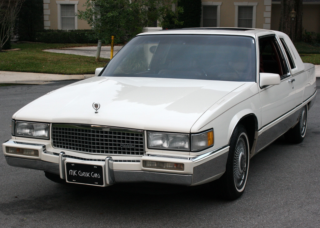 1990 cadillac fleetwood coupe moonroof for sale. Black Bedroom Furniture Sets. Home Design Ideas