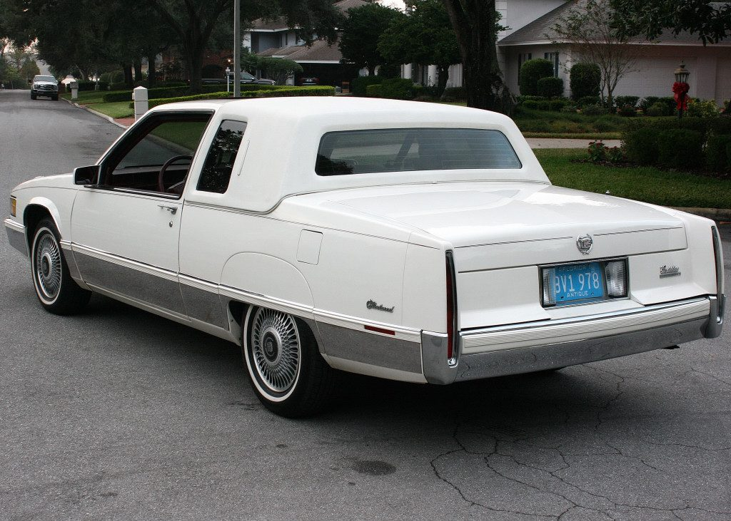 Cadillac Fleetwood Coupe Moonroof For Sale X
