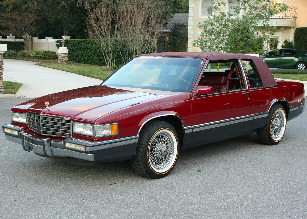 1991 Cadillac Deville Coupe For Sale