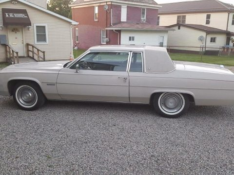 One Owner 1983 Cadillac Deville Grey for sale